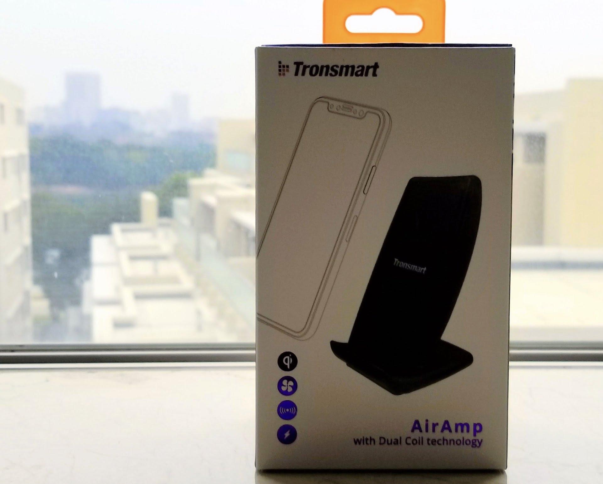 Galaxyも最新iPhoneも充電できるワイヤレス充電器「Tronsmart AirAmp」のレビュー
