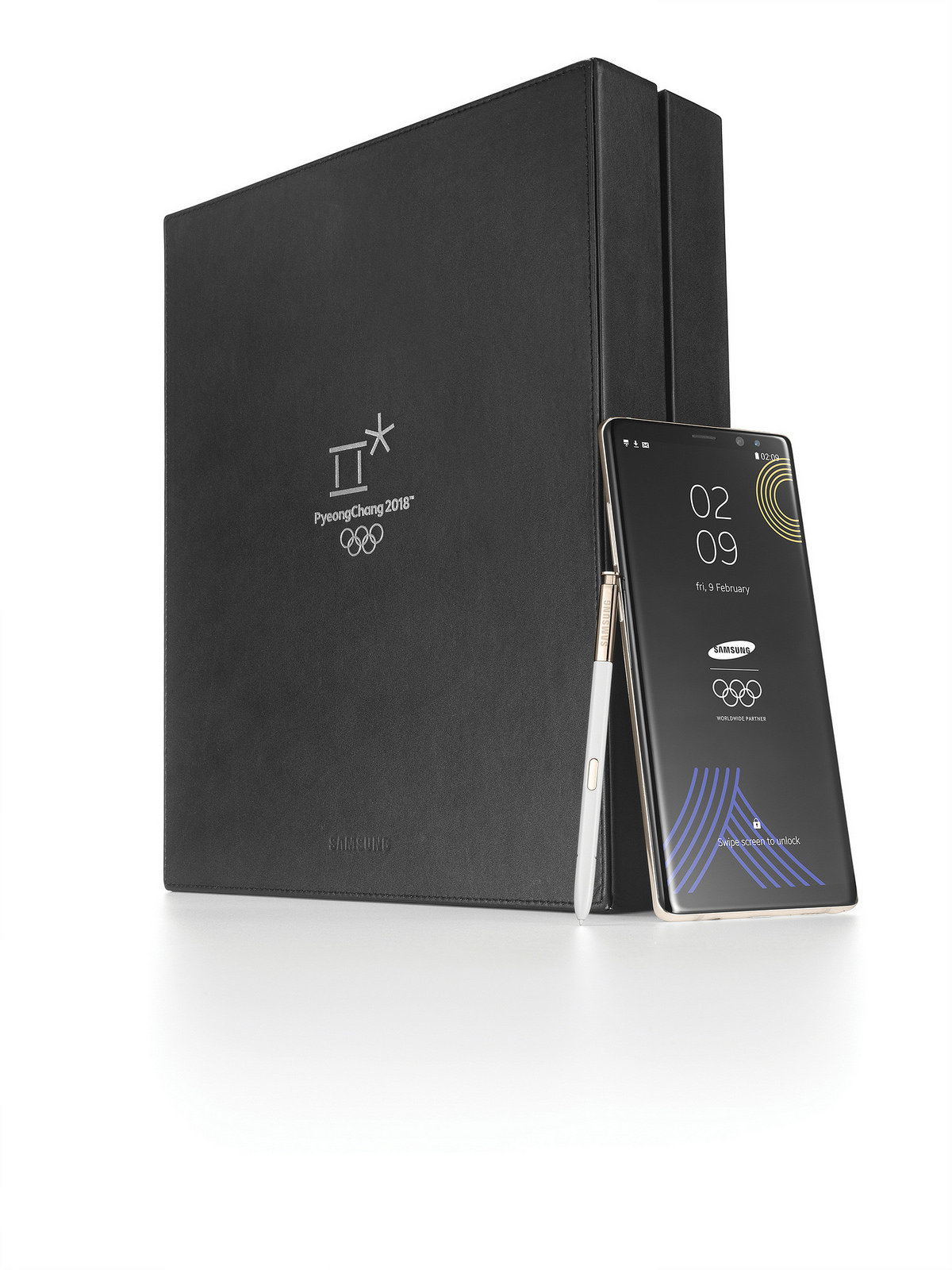Samsung、Galaxy Note8 Olympic Editionを公開
