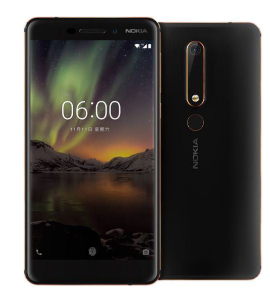 Nokia、Snapdragon 630搭載ミドルレンジスマホ「Nokia 6(2018)」を発表