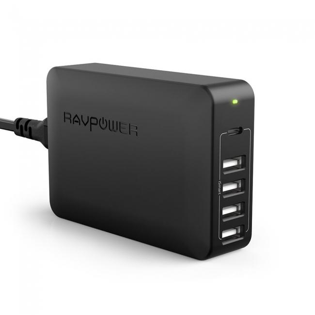 RAVPowerがUSB-C PDを含む5ポートを搭載した充電器「RP-PC059」を発売