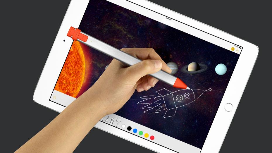 新しい「iPad」向けに49ドルのスタイラスペン「Crayon(クレヨン)」を発売するもiPad Pro非対応