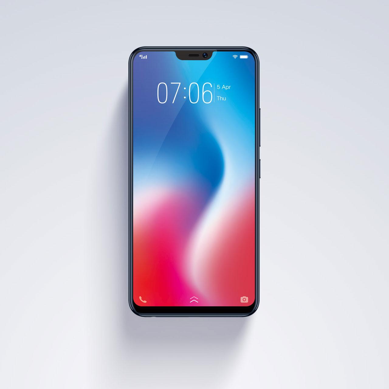 Vivoが「iPhone X」そっくりなノッチディスプレイ搭載スマホ「V9」を発表