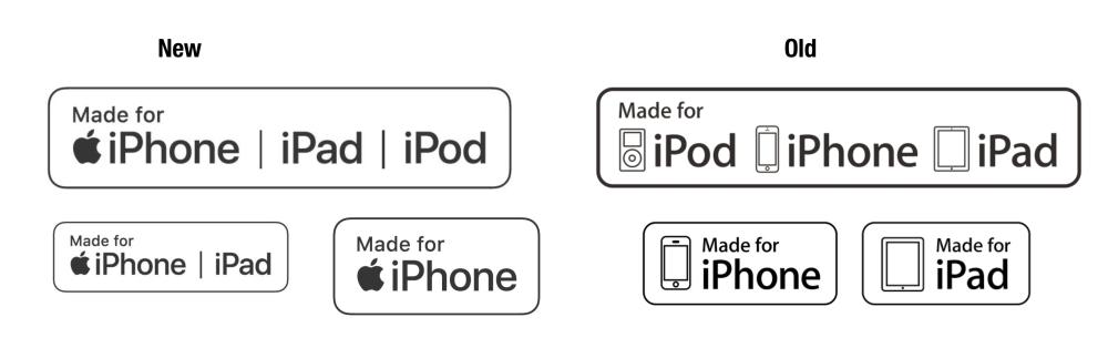 Apple、MFi認証ロゴを変更へ