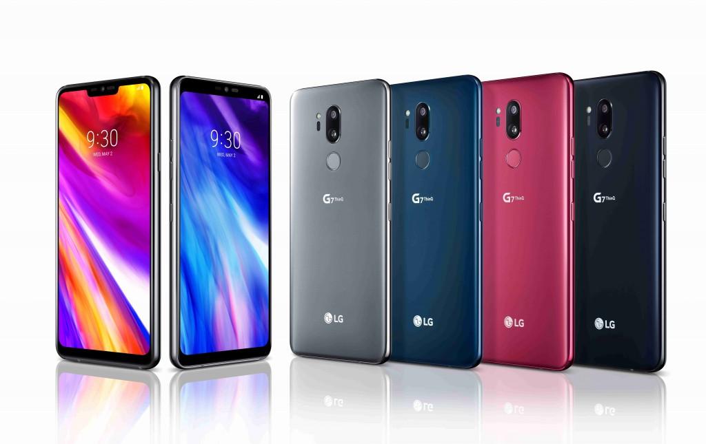 LGがAIとディスプレイ、音響に力を入れた「LG G7 ThinQ / G7+ ThinQ」を発表