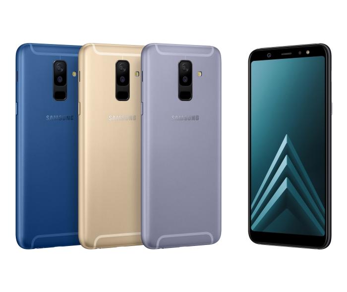 Samsung、ミドルレンジスマホ「Galaxy A6」と「Galaxy A6+」を発表