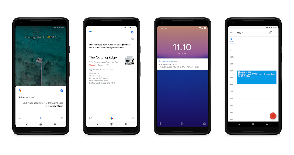 Google I/O 2018、「Google アシスタント」の強化について