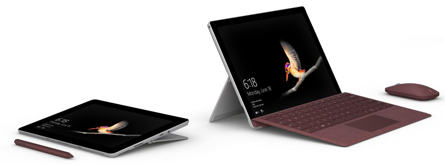 日本マイクロソフト、お手頃価格の「Surface Go」を国内投入。8月28日より販売開始。