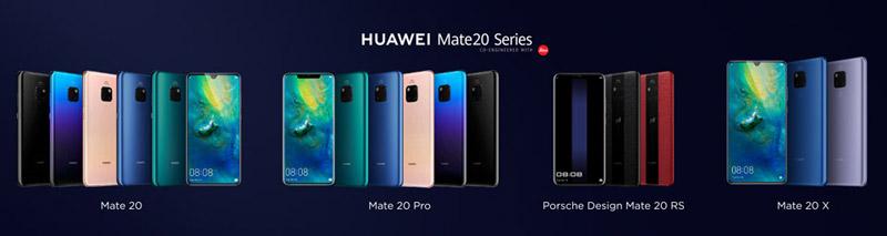 HUAWEI Mate 20シリーズについて簡単に紹介