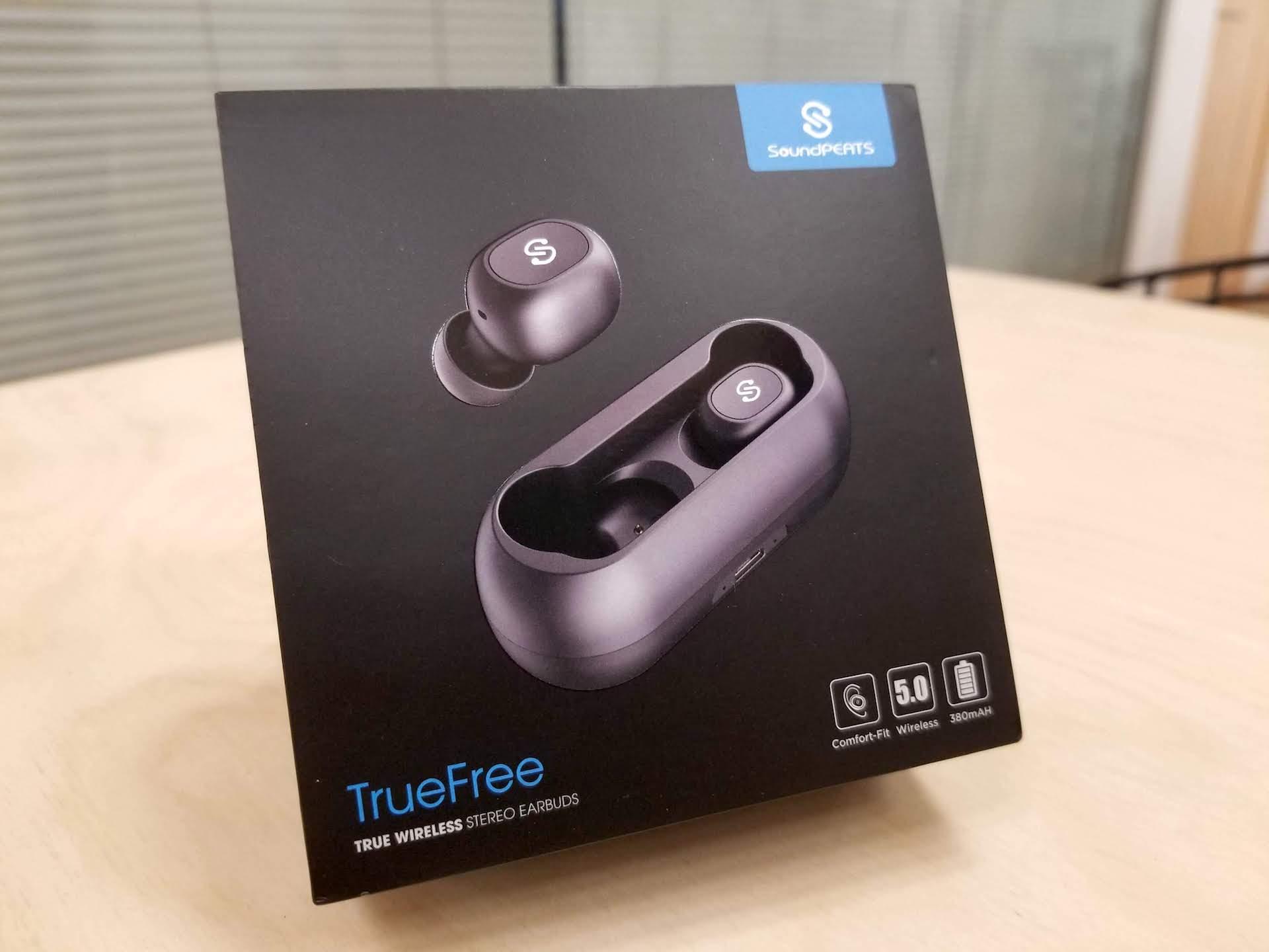 4,000円以下でAAC対応の完全ワイヤレスイヤホンSoundPEATS「TrueFree」をレビュー
