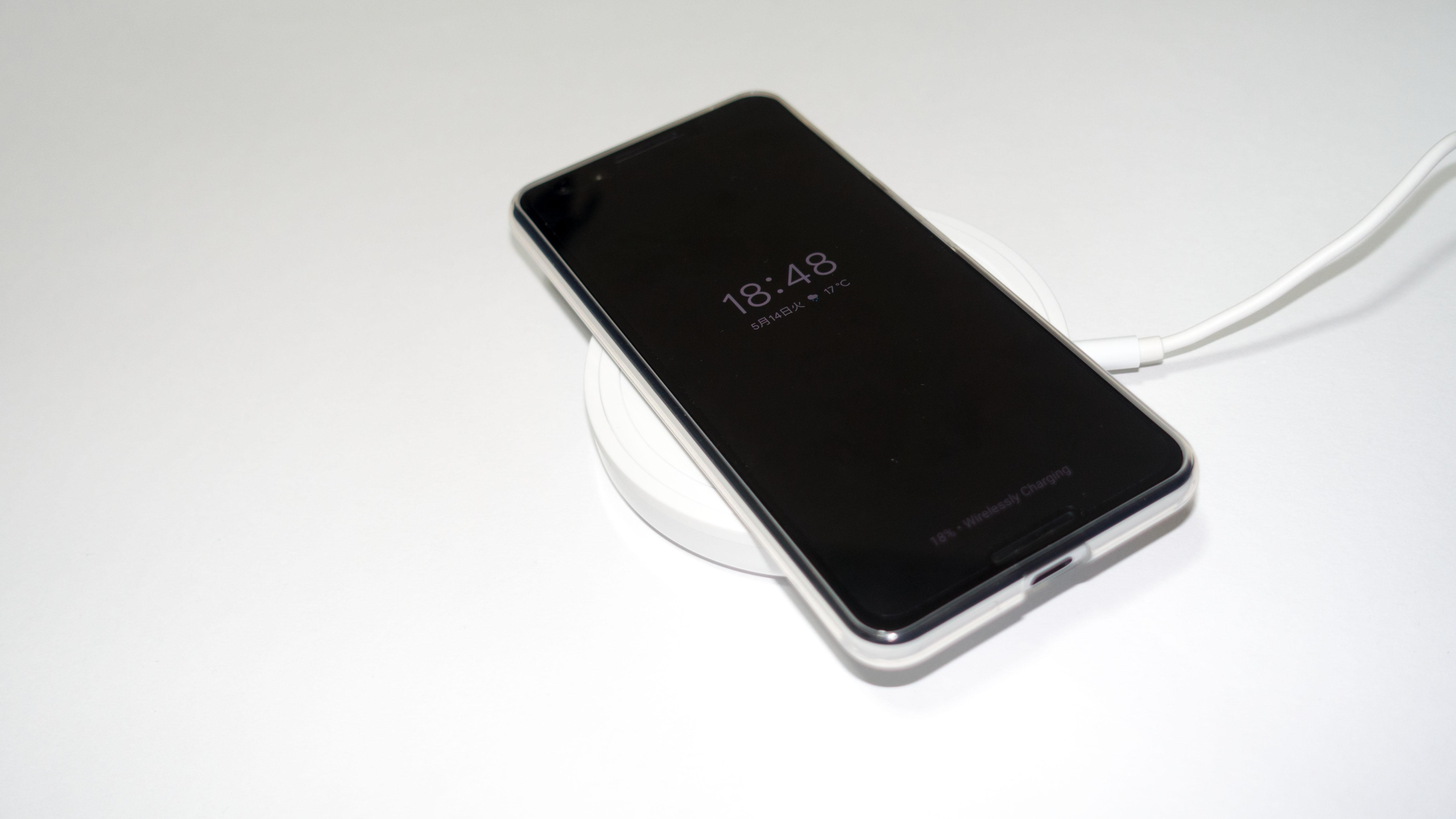 Pixel 3 / 3 XL用のワイヤレス急速充電は国内では「PixelStand」のみなので注意を
