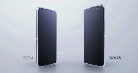 TCL、ALCATELシリーズスマートフォン「IDOL 4」と「IDOL 4S」の2機種を発表